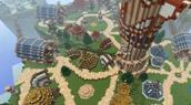 Pitons-du-Tonerre dans Minecraft