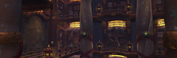 L'intérieur du Temple du Serpent de Jade