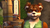 Pandaren femelle
