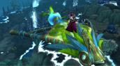 Le cerf-volant pandaren de jade