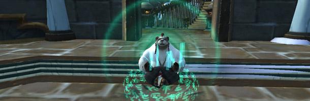 Le sort Pélerinage zen du Moine vers une utilisation plus simple ?