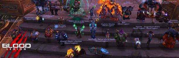 Blood Legion affronte désormais le dernier boss de la Terrasse Printanière 25HM