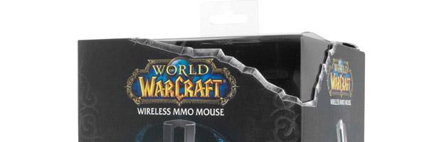 Boîte de la souris sans fil