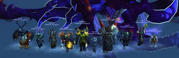 La guilde Paragon termine la Terrasse Printanière sur un World First