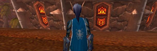 Vous pouvez désormais transmogrifier votre cape épique, héritage ou autres aux couleurs de votre guilde