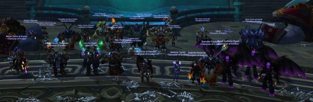 Exodus est la première guilde US à avoir terminé les Caveau de Mogu'shan en mode normal