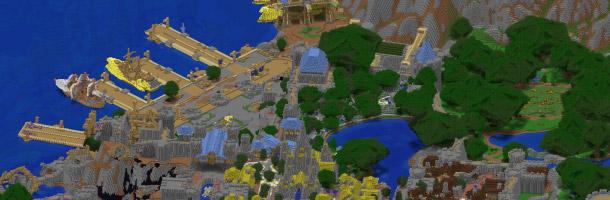 Partez à la découverte d'Hurlevent dans Minecraft