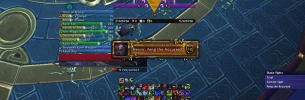 La guilde Blood Legion première sur Feng le Maudit 25 HM