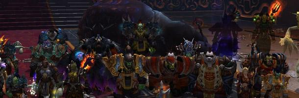 La guilde Wraith première sur le Garde de pierre 25 HM