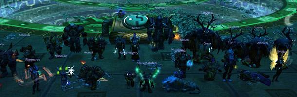 La guilde Blood Legion en tête du classement mondial 25 HM