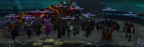 La guilde Dream Paragon termine les Caveaux de Mogu'shan en 10HM