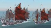 Les flottes de guerre se préparent