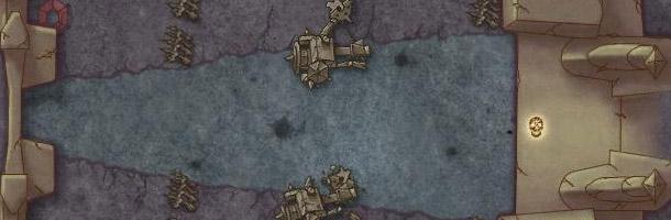 La carte du scénario Temple noir