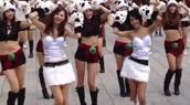Caramell Dansen interprété à Taïwan