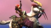 Nouvelle monture : la chèvre volante