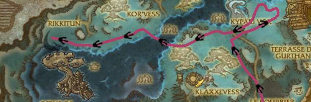 Visualisez le parcours de Hexapos