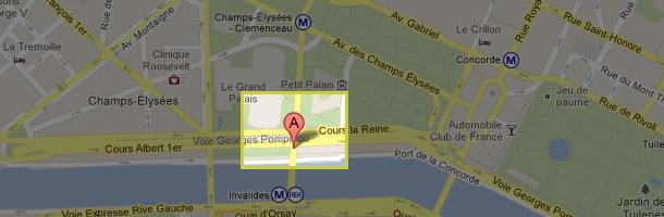 Showcase, Port des Champs Elysées, 75008 Paris