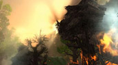 Un lever de soleil en Azeroth