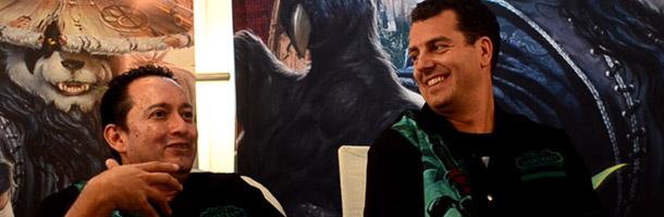 Interview avec Carlos Guerrero et Jonathan Dumont
