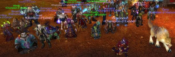 Exöde obtient le preum's serveur du haut-fait de guilde : « Travail d'équipe encore meilleur »