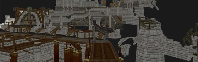 Le port d'Hurlevent bombardé lors du Siège d'Orgrimmar