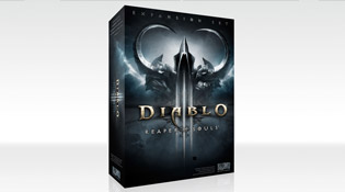 La boîte de Diablo III : Reaper of Souls