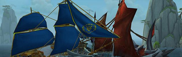 Le conflit entre l'Alliance et la Horde va s'intensifier