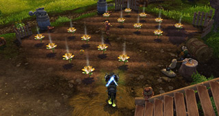 La ferme permet de détenir un petit bout d'Azeroth