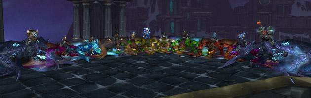 La guilde Dust a organisé une marche de proto-drakes