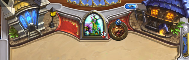 Plateau Hearthstone : Heros of Warcraft représentant Hurlevent