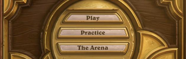 Découvrez le menu principal d'Hearthstone : Heros of Warcraft