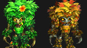 Une mascotte avec quatre formes !