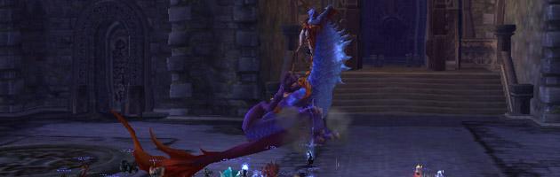 Le World Boss Nalak est désormais en prise avec de nombreux joueurs sur les différents royaumes du jeu