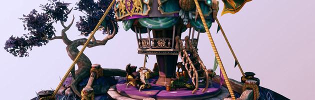 Le carrousel de la Foire de Sombrelune est inspiré d'un concours artistique