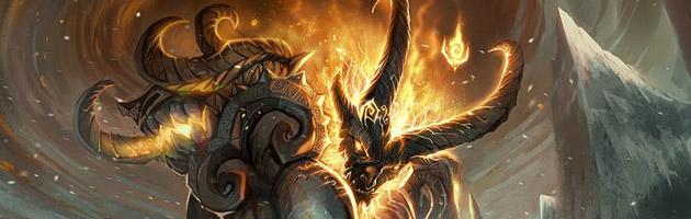 Nous ne sommes pas encore prêts pour revoir Sargeras, le Titan de Bronze.