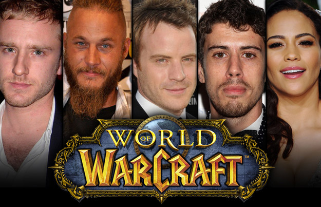 Les acteurs du film Warcraft (via Reddit)