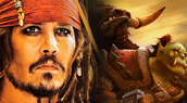 Johnny Depp dans le film WoW ?