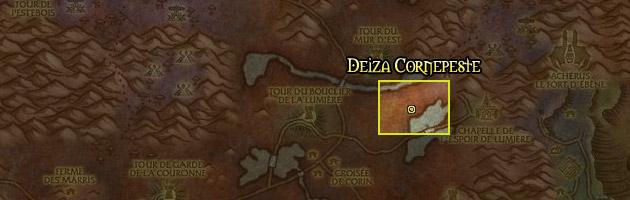 Deiza Cornepeste se trouve dans les Maleterres de l'est