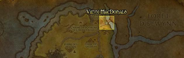 Le Vieux MacDonald se trouve à l'entrée de la Marche de l'ouest
