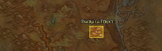 Dagra la Féroce se trouve dans les Tarides du Nord