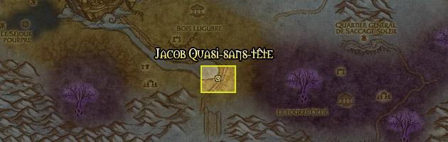 Jacob se trouve dans la Forêt Chant de Cristal