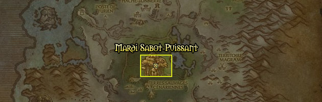 Mardi Sabot-Puissant se trouve en Désolace
