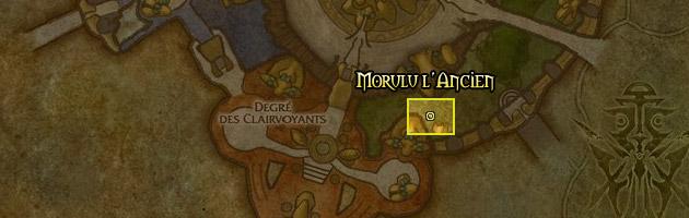 Morulu l'Ancien se trouve dans la Ville Basse de Shattrath