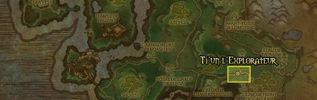 Ti'un l'Explorateur se situe dans les Steppes de Tanglong
