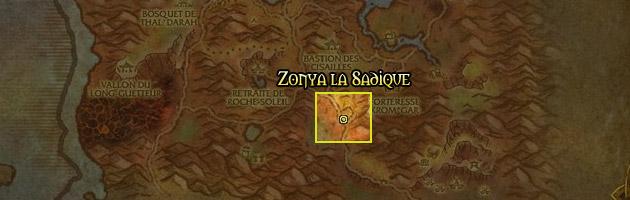 Zonya la Sadique se trouve dans les Serres Rocheuses