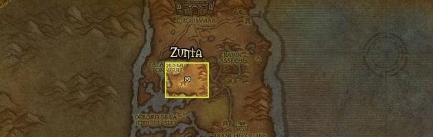 Zunta se trouve à proximité d'Orgrimmar