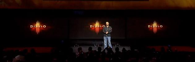 Présentation de Diablo 3 lors de la conférence de Sony