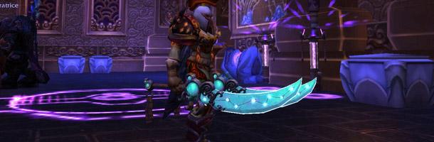 Xuanxi a transmogrifié ses deux haches en deux épées