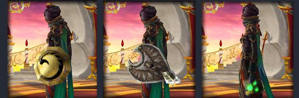 Caractéristiques des nouveaux objets héritages disponibles jusqu'au niveau 85