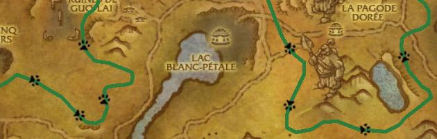Visualisez le parcours d'Auspice dans le Val de l'Éternel Printemps